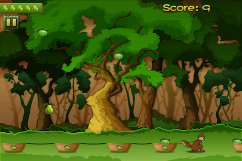 Screenshot Fruit Rain